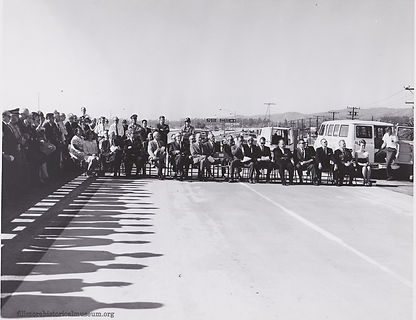 1965 Grand Opening of the freeway portio