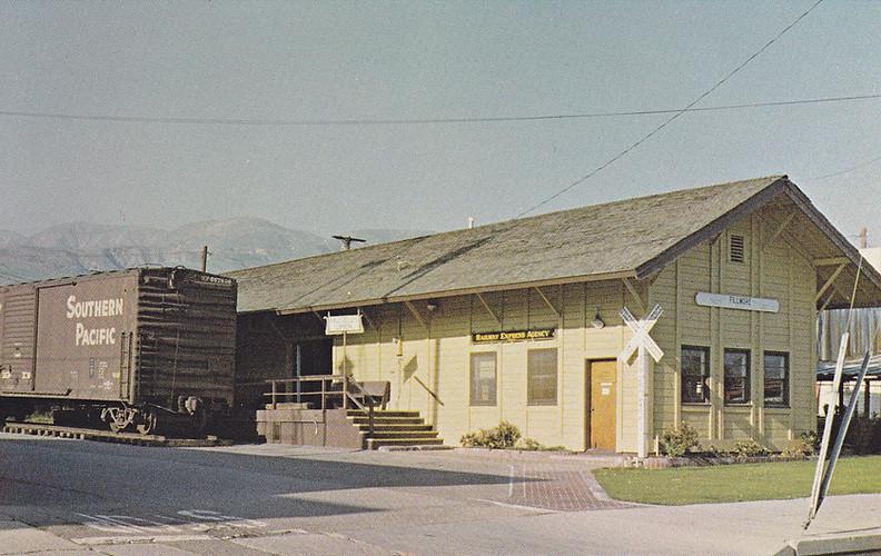 Depot Circa 1980 as the Fillmore Historical Museum