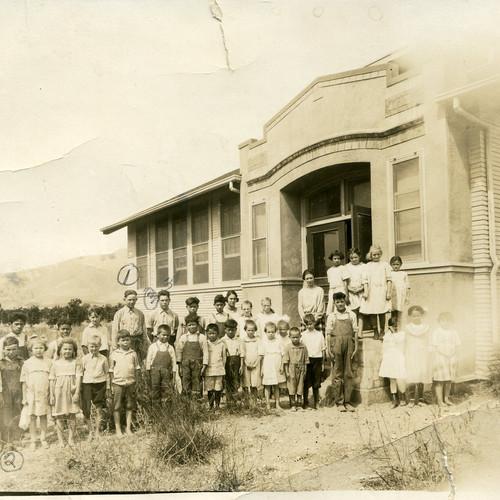 Buckhorn School about 1916