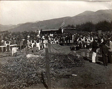 1909 Picnic celebrating opening of the B