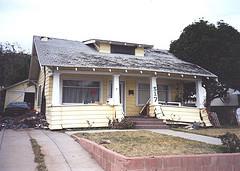1994 Earthquake, Damaged Home