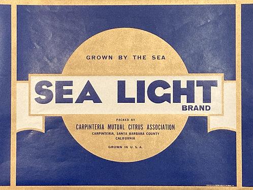 Sea Light Brand Carpenteria Mutual Citrus Association
