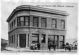 Fillmore's First Bank