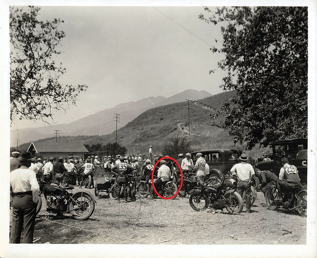The Mystery of the Motorcycle Race