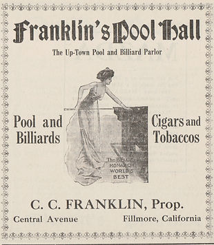 Franklin Pool Hall Ad 1913.JPG