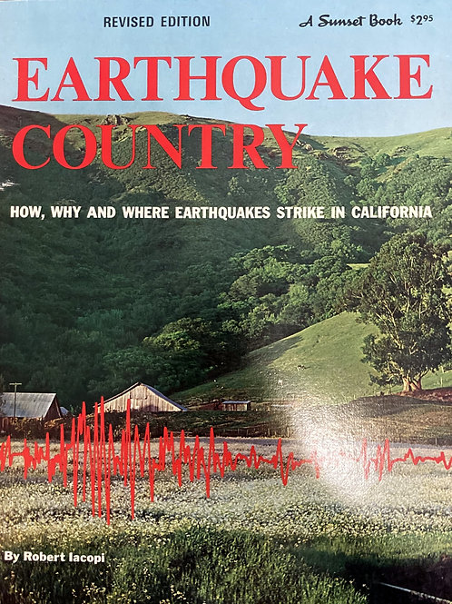 Earthquake Country by Robert Iacopi