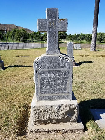G Basolo tombstone.jpg