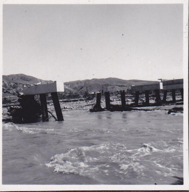 1969 Flood Damage on Sespe