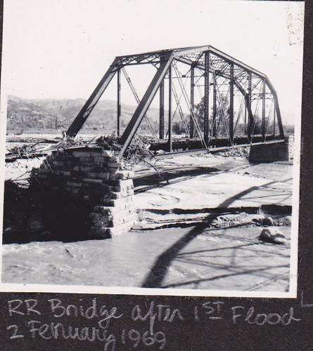 1969 Sespe Railroad Bridge
