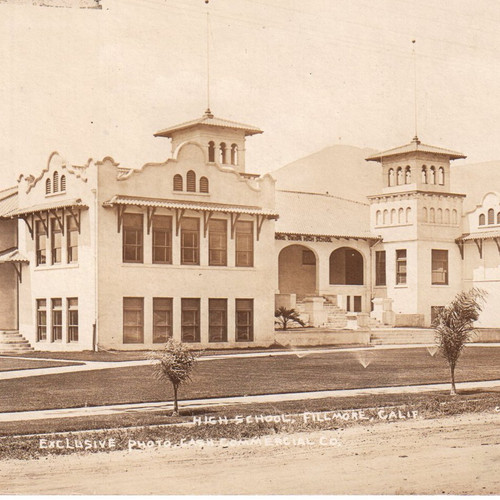 Fillmore High School about 1911