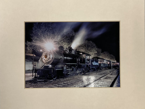 Steam Train by Bob Crum