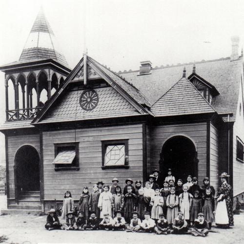 Sespe School on Grand Avenue