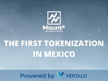 MountX & Vertalo Choose Tezos For First-Ever Tokenization of Real Estate in Mexico