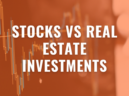 Stocks VS Real Estate Investments, In which one should you invest?