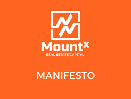 Manifesto MountX Real Estate Capital