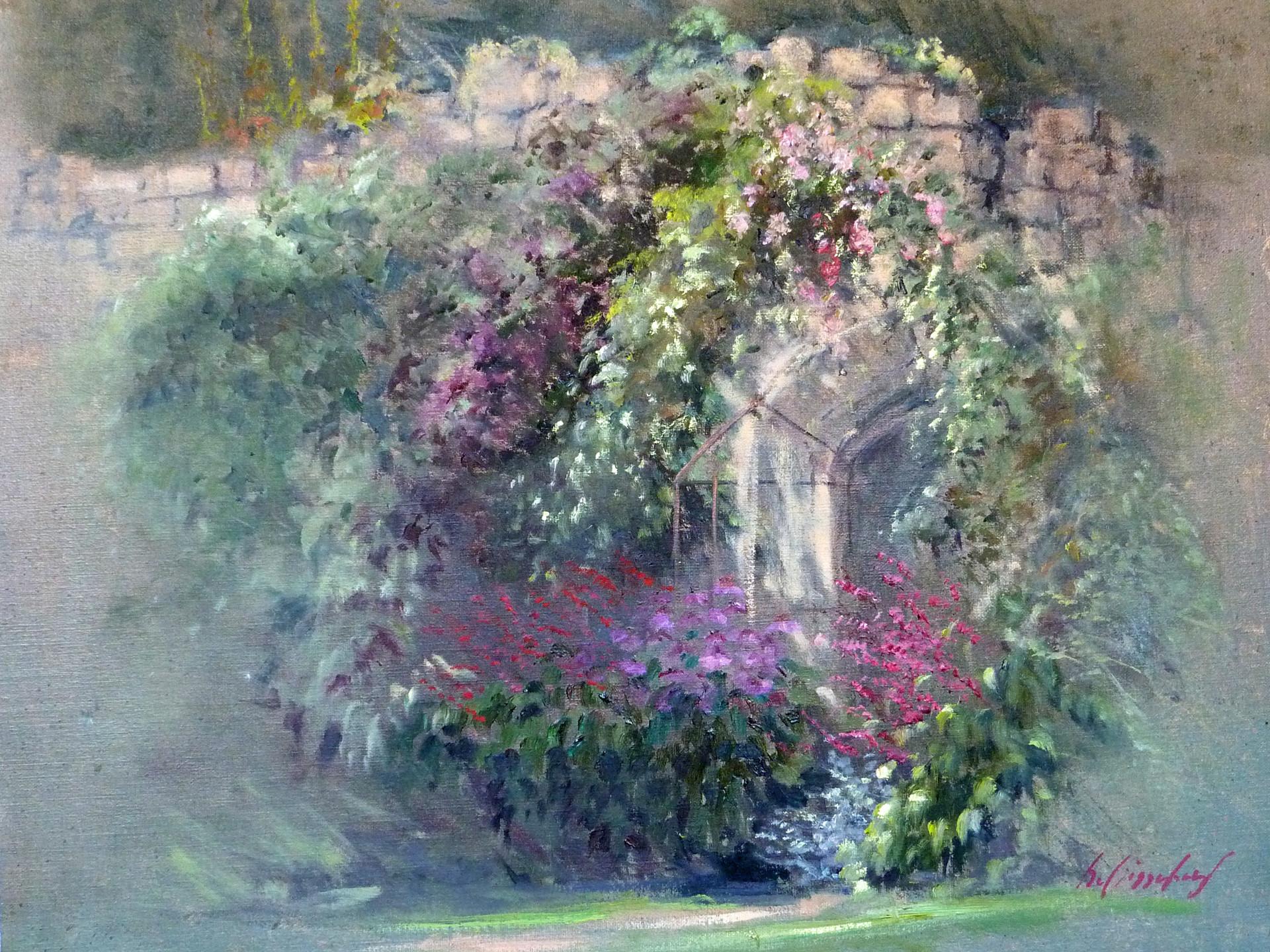 Sudely Garden  England 50x60 cm