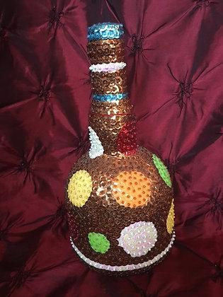 Boutey Lwa - Libation Bottle for Kongo