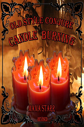 Old Style Conjure Candle Burning Book by Starr