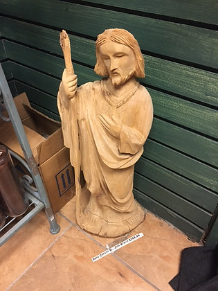 St. Jude - Large Wooden Statue