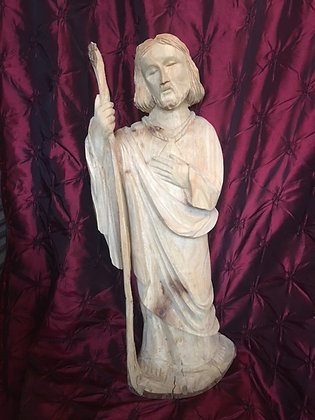 St. Jude - Large Wood Statue