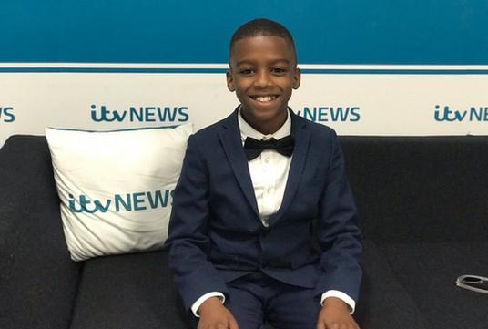Omari at ITV News