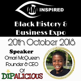 Omari McQueen will be speaking at the I