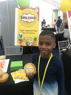Omari at the Ultra Business Fair