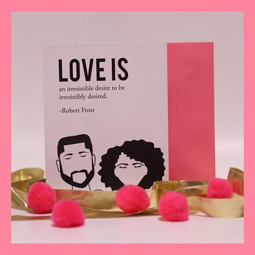 Love Is Card
