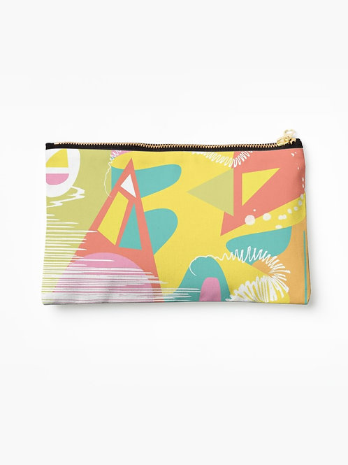 Abstract Beach Clutch