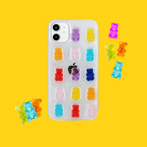 3D Gummy Bear iPhone Case