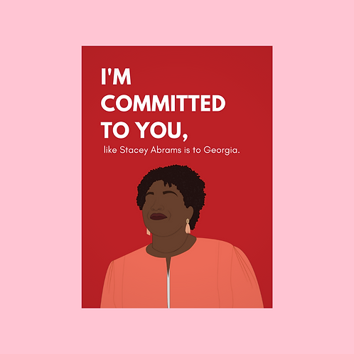 Stacey V-Day Card