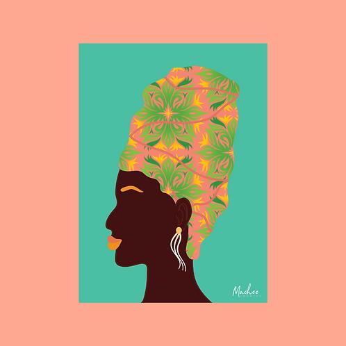 Tropic Wrap Art Print