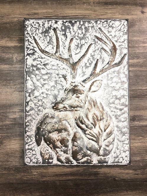 Metal Deer Art