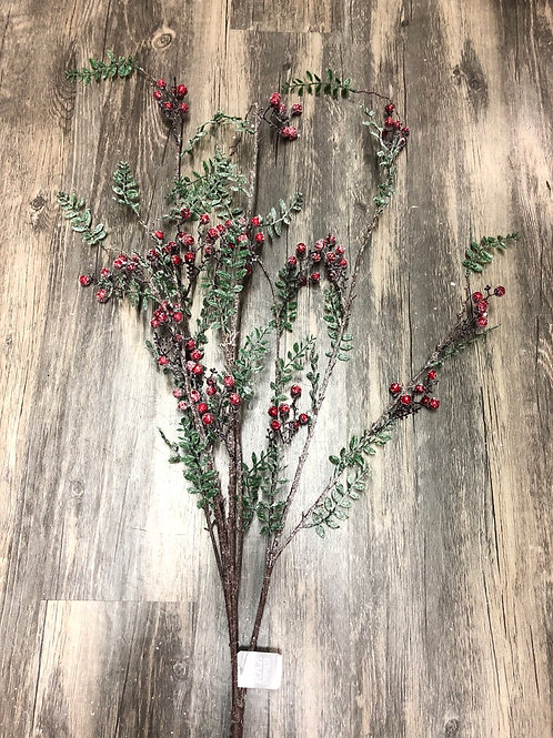 Boxwood & Berry Iced Christmas Floral