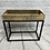 Thumbnail: Metal and Reclaimed wood accent table