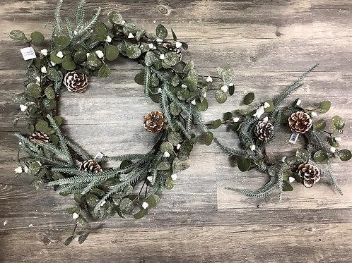 Evergreen & Eucalyptus Christmas Wreath