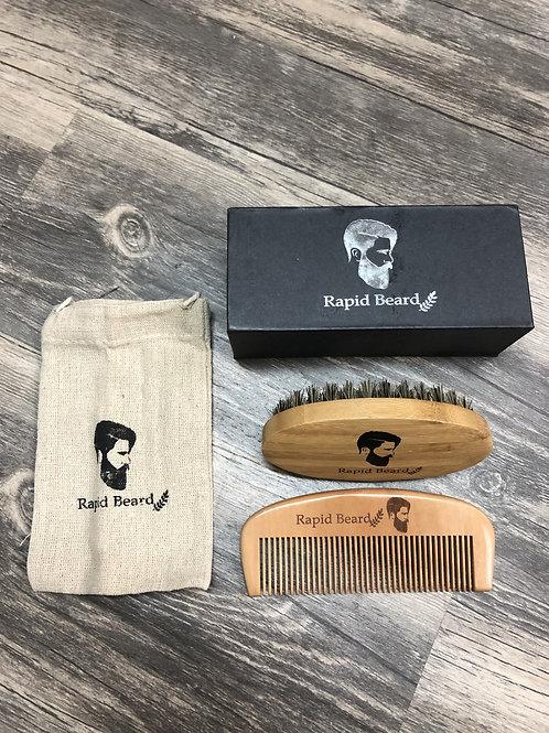 Beard Comb/Brush Set
