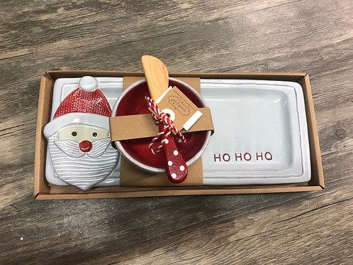 Hostess Christmas Tray Dip Set