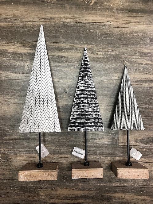 Metal Geometric Design Christmas Tree