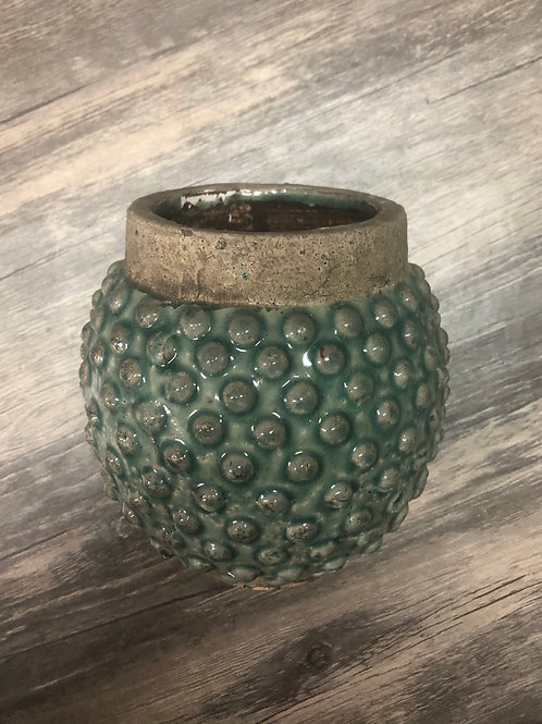 Hobnail Planter or Vase