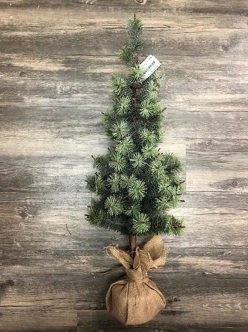 Iced Christmas Tree