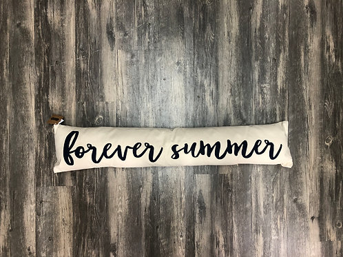 """Forever Summer"" Word Pillow"