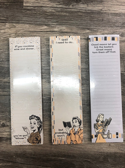 Magnetic List Notepads