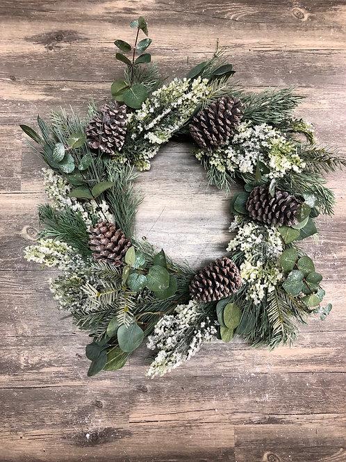 Pine & Eucalyptus Christmas Wreath