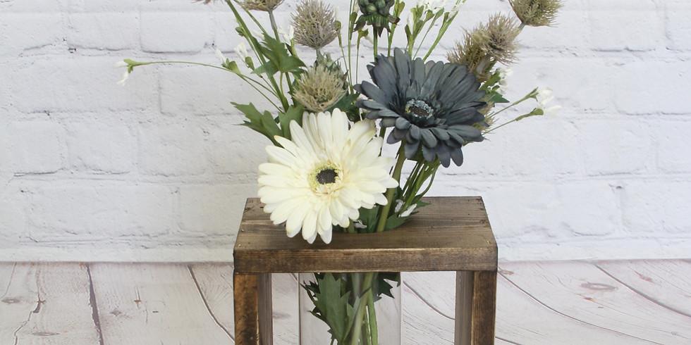 Wood Vase Centerpiece Workshop