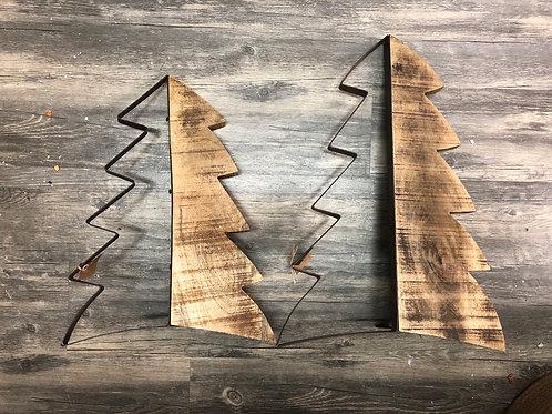 Rustic Wood Christmas Tree Sitter