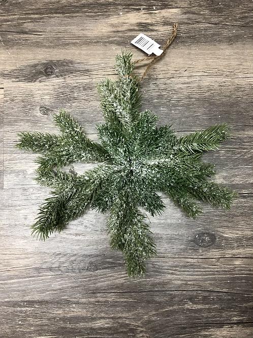Pine Snowflake Ornament