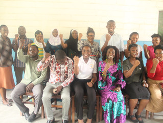 MoMEC volunteers participate in training for S4HL campaign