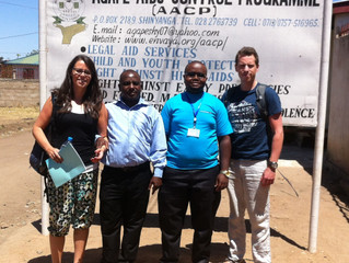 Meeting our partners at AGAPE Shinyanga