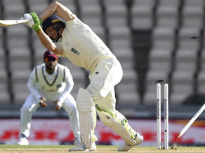 West Indies Win First Test by 4 Wickets